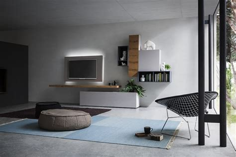 soggiorno parete attrezzata moderna parete attrezzata moderna