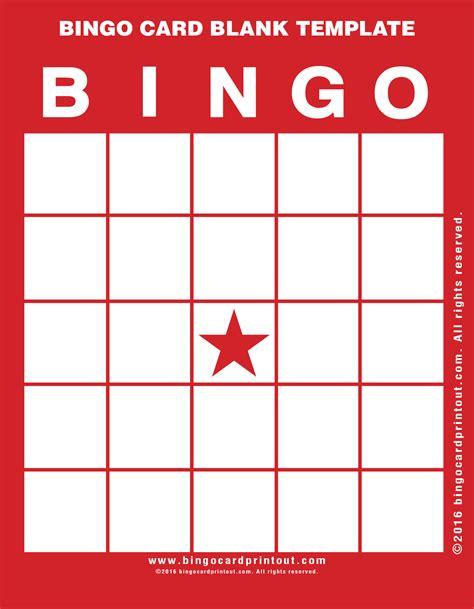how to make a bingo card bingo card blank template bingocardprintout