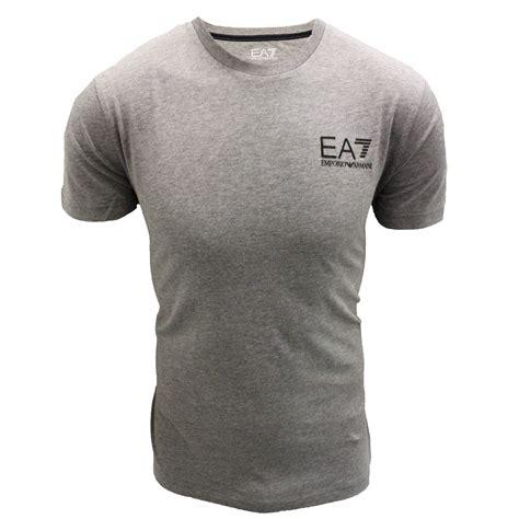 Tshirt Giorgio Armani Dealldo Merch emporio armani t shirt ea7 mens grey crew neck top ebay