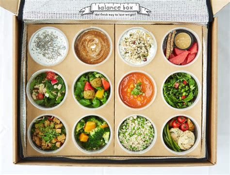 Diet Meal Box balance box diet food delivery uk