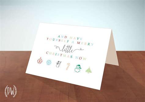 little printable christmas cards diy crafts