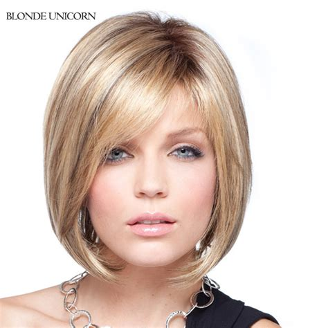 wigs for women over 80 blonde unicorn bob wigs human hair wigs for women blonde