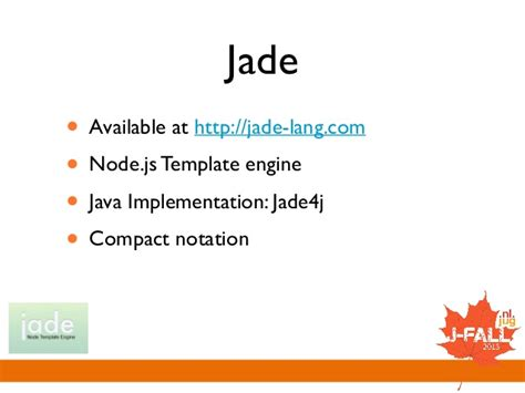 jade template engine shootout template engines for the jvm
