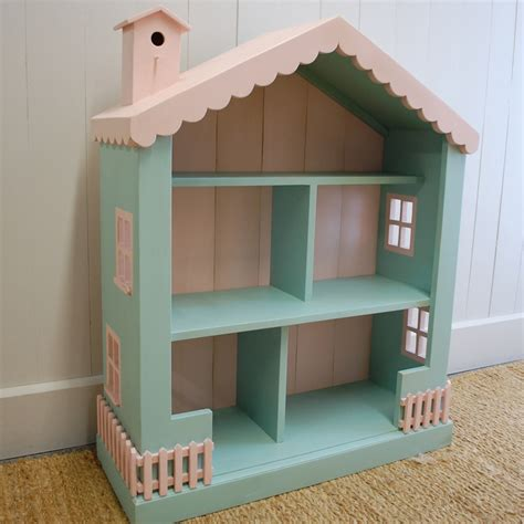 cottage dollhouse bookcase by farmhouse furniture