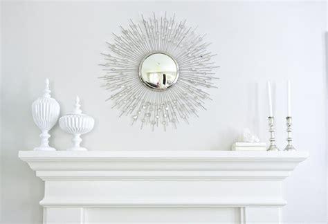 Living Room Tables Walmart Silver Sunburst Mirror Transitional Living Room