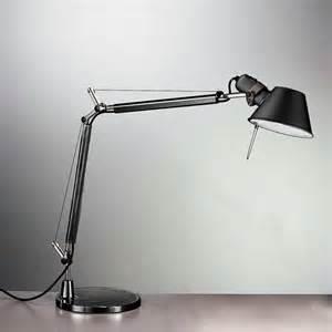 Tolomeo Desk L Black Artemide Tolomeo Mini Table L With Base A005940 A008610 Reuter Shop