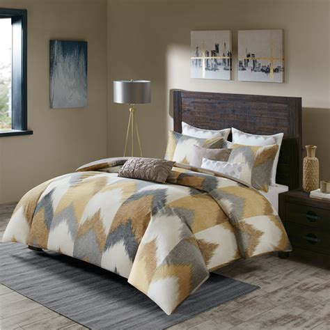 ivy comforter set ink ivy alpine cotton comforter mini set ebay