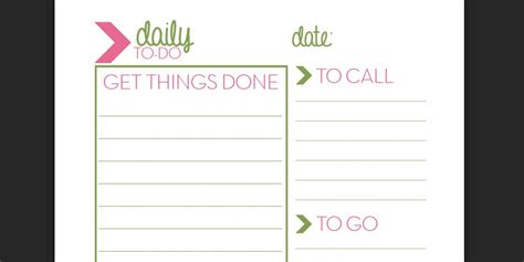 Getting Things Done Templates by Getting Things Done To Do List Template Beautiful