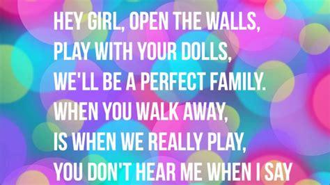 lyrics to doll house dollhouse melanie martinez lyrics meaning