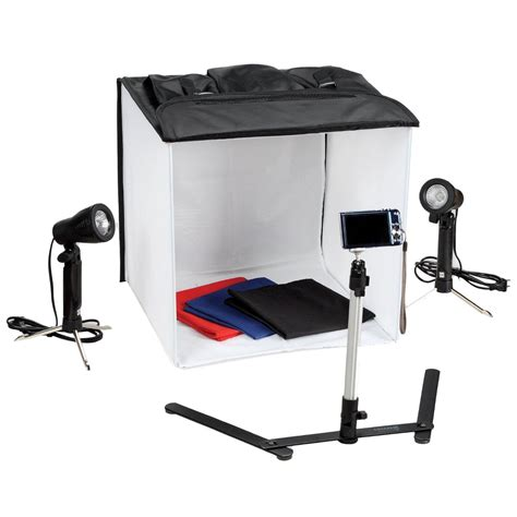large photo studio box portable web light kit for