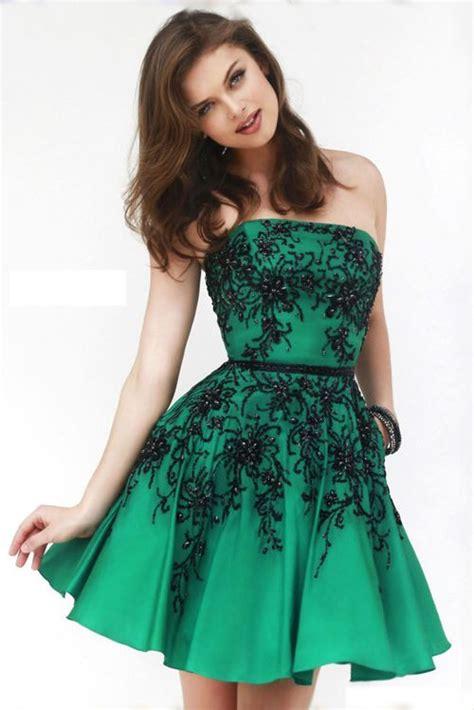 imagenes de vestidos verdes cortos vestidos de noche de moda
