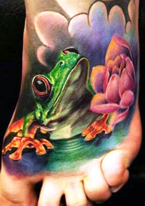 tattoo frog designs 40 frog tattoos tattoofanblog