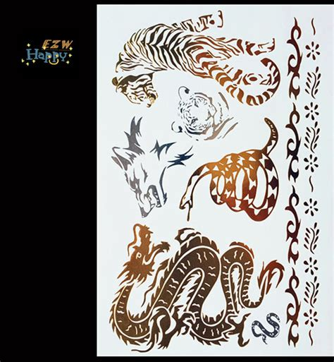 nipple tattoo stickers dragon body jewelry reviews online shopping dragon body