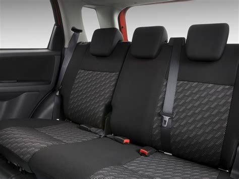 Suzuki Sx4 Seats Image 2009 Suzuki Sx4 5dr Hb Awd Rear Seats Size