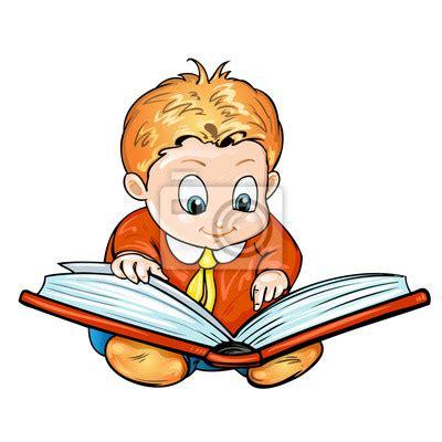 imagenes animadas leer los ni 241 os de dibujos animados de leer un libro vinilos