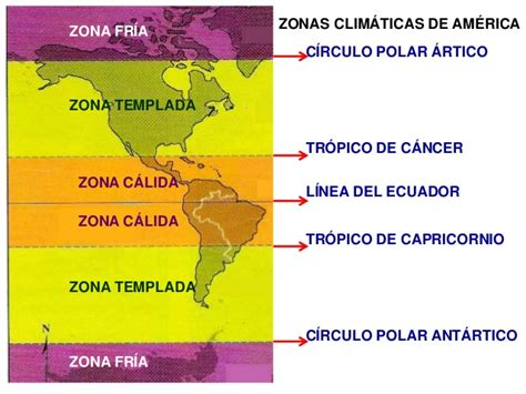 america mapa de climas mapas de climas y relieve