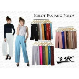 Celana Kulot Bahan Scuba Size Lxl celana kulot panjang bahan scuba termurah size std xxxl shopee indonesia