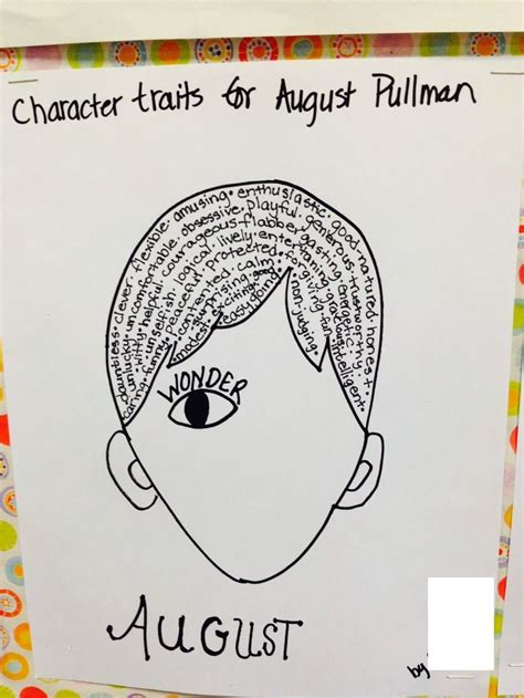 pictures of august from the book by r j palacio character study august