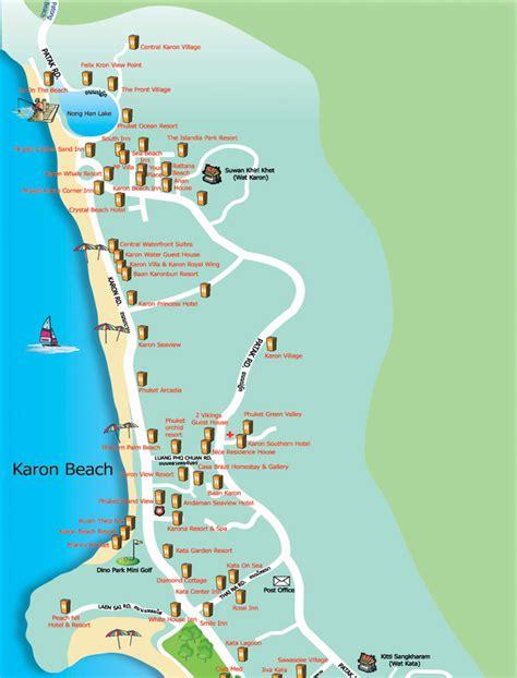karon resort map cheap bungalows in karon discount karon