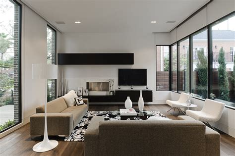 southton modern living room houston by content - Modern Living Room Images D