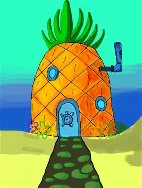 how to draw spongebob s house spongebob s pineapple
