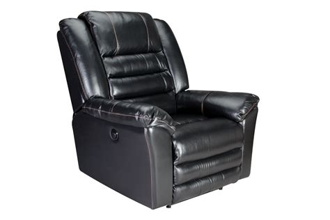 Black Leather Power Recliner by Black Leather Power Recliner