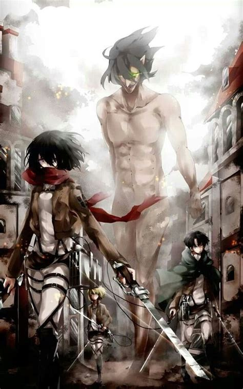 self eren from attack on titan titan form cosplay attack on titan mikasa ackerman rivaille levi armin