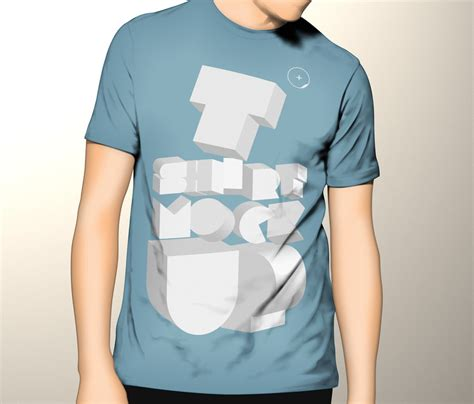 free tshirt mockup template by pixeden on deviantart
