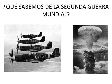 la guerra de la 8494210777 la segunda guerra mundial
