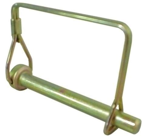trailer coupler safety lock pin 1 4 quot husky hitch