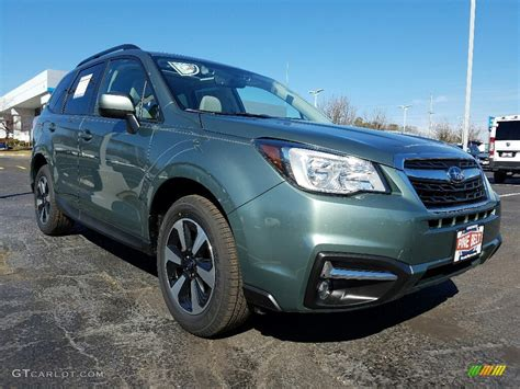 green subaru forester 2017 green metallic subaru forester 2 5i premium