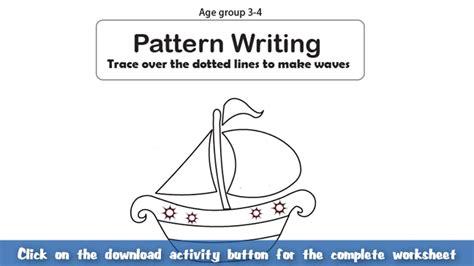 pattern of writing an article pattern writing part 3 english worksheet for kids mocomi