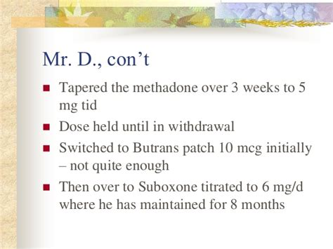 How To Detox From Methadone 125 Mg by Session 5 Rieb Challenging Cases