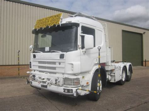 scania 124 lhd 6x4 heavy duty tractor unit for sale the uk