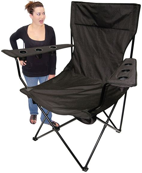 large heavy duty lawn chairs for heavy for big - Big Folding Chair