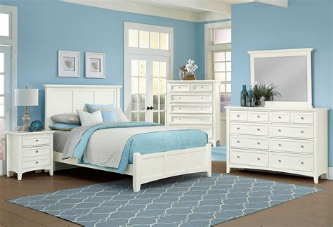 bonanza mansion bedroom set white vaughan bassett