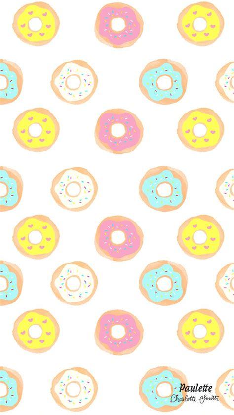 meine liebsten iphone wallpaper rund ums essen donuts