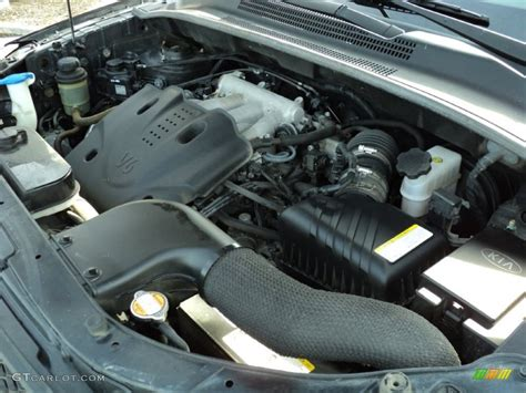 2005 Kia Sportage Engine 2009 Kia Sportage Ex V6 2 7 Liter Dohc 24 Valve V6 Engine