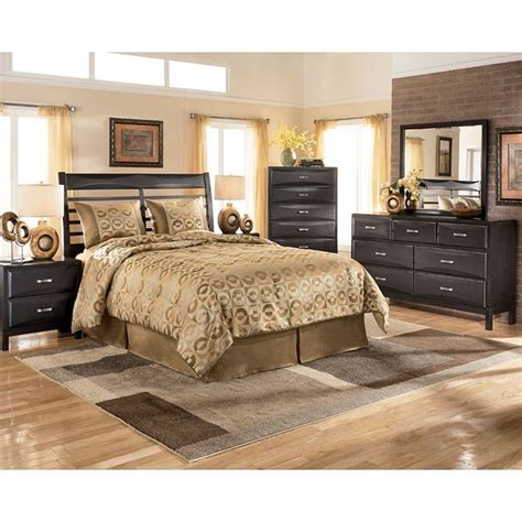 signature designs by ashley kira black bedroom desk and kira headboard bedroom set signature design by ashley