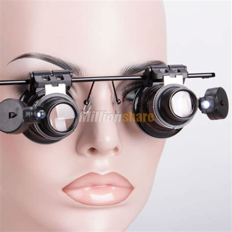 20x Watch Magnifier Jeweler Magnifying Eye Glasses Loupe