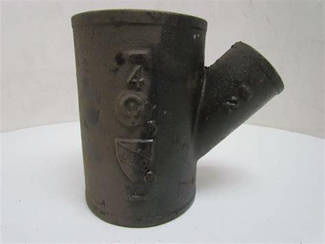 Pipa Cast Iron Pipe Foundry Nh 20 00217 4x2 Cast Iron No Hub