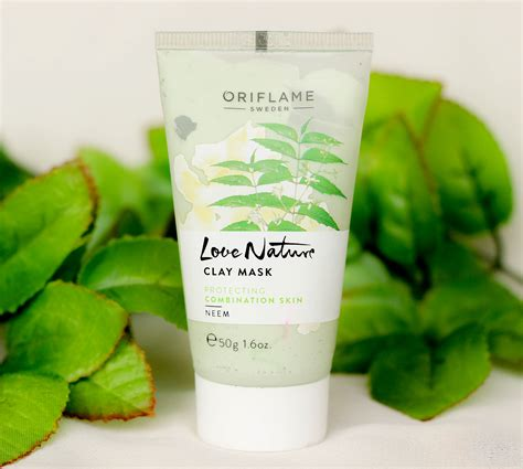 Nature Clay Mask Oriflame oriflame s nature neem for combination skin