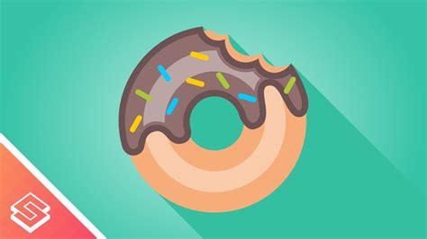 illustrator tutorial donut inkscape tutorial vector donut youtube