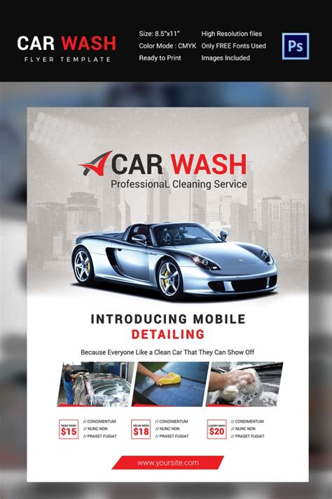 auto detailing flyers related keywords auto detailing