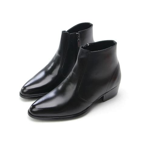 mens black ankle boots cr boot