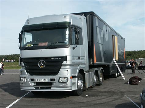 truck truck mercedes mercedes shows heavy truck in germany