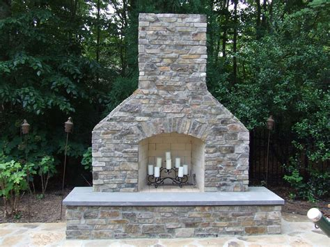 brick outdoor fireplace with charming make outdoor brick
