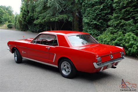 Mustang Auto 1965 by 1965 Ford Mustang Ebay Autos Post