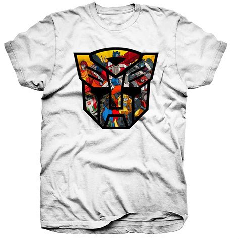 transformers t shirt decepticons autobots cartoon anime