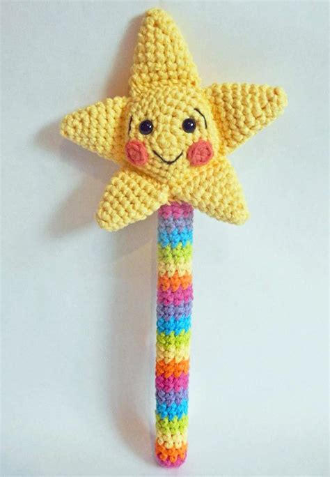 magic wand pattern crochet toy pattern amigurumi magic wand with crochet